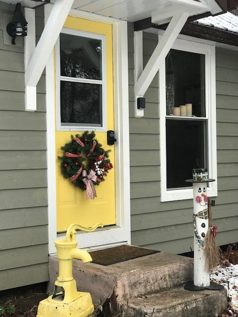 Little Yellow Door  Cabin      A/C&Heating
