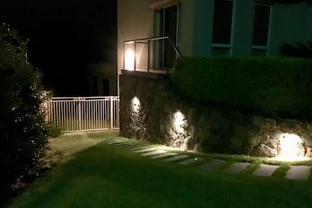 Well lit pathway to access your apartment