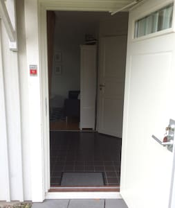 Pas d'escaliers ou de marches pour entrer