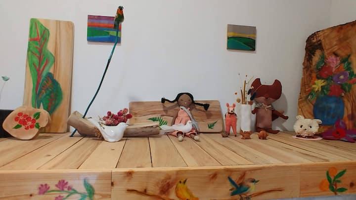 JEJU  Romantopia  wooden house MEMORY