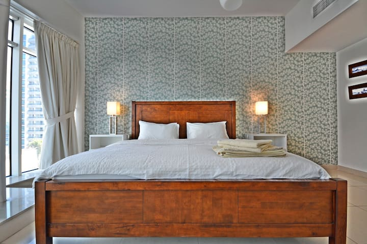 Master bedroom, with spacious ensuite.