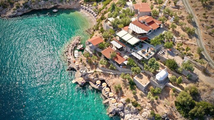 """Amazing sea view apartment """"Souroupo"""""""