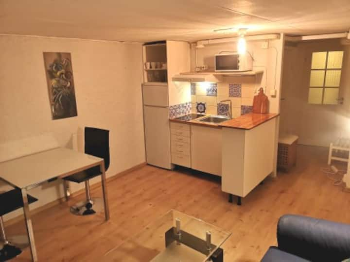 Cozy 2-room Apartment in Villa basement