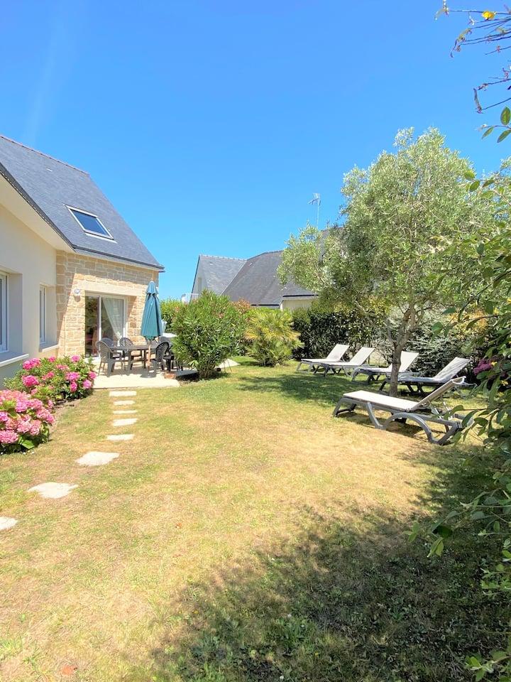Maison 10P jacuzzi proche plage Golfe du Morbihan