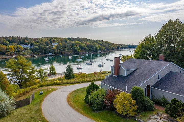 Rockport Village Water View, Artist Inspired Home