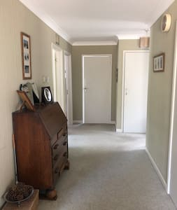 """Wide hallway - doors into private rooms are 28"""""""