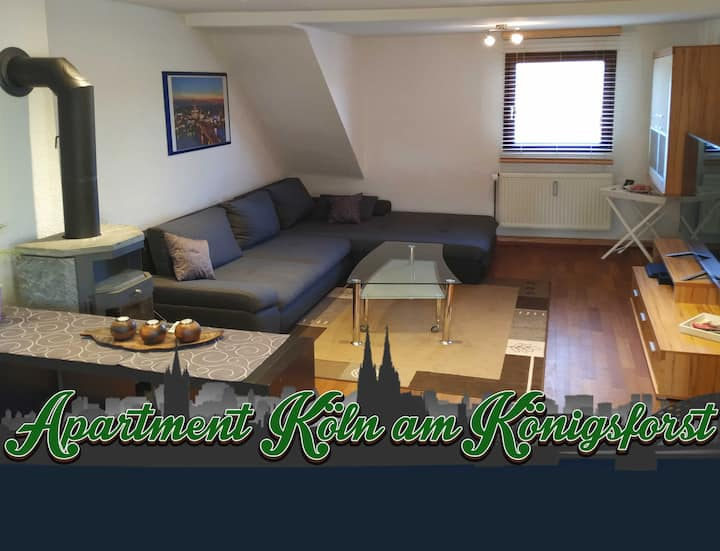 Apartment in Cologne - 15min. to city & trade fair