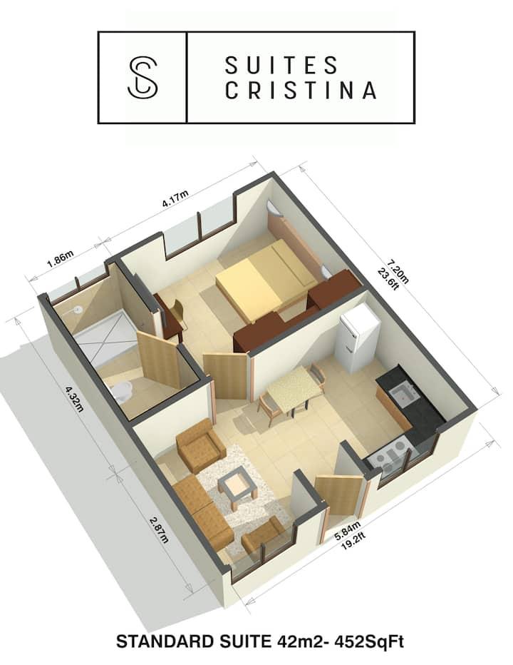 Apartamento Standard equipado #1