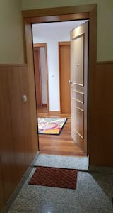 Large security door to enter the apartment.