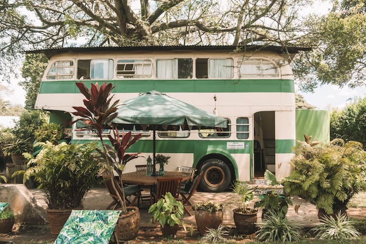 ★The Brandy Bus, Glamping In a Quiet Paradise