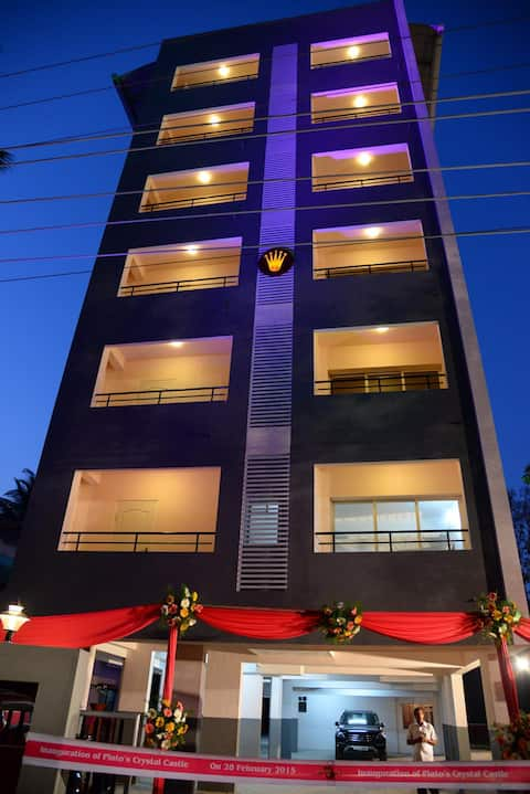 1Bhk Modern flat at Kinnigoli @ Crystal Castle