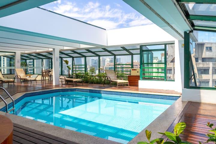Cozy Itaim Bibi Apartment - *with daily service*
