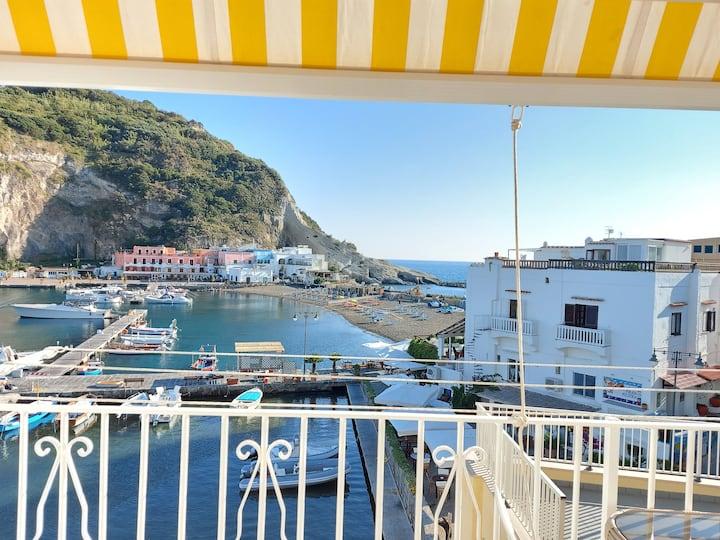 Casa S.Angelo. 50 mt beach. Sea View.Ischia Island