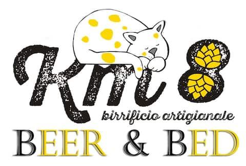 Beer & Bed km8