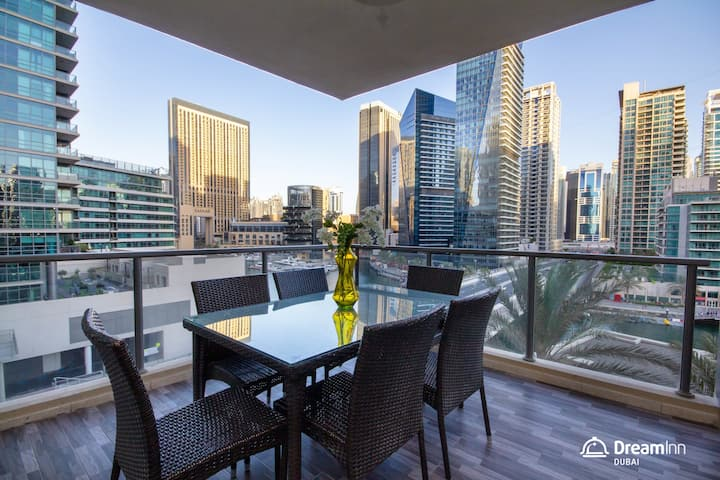 Panoramic View - Al Sahab, Dubai Marina