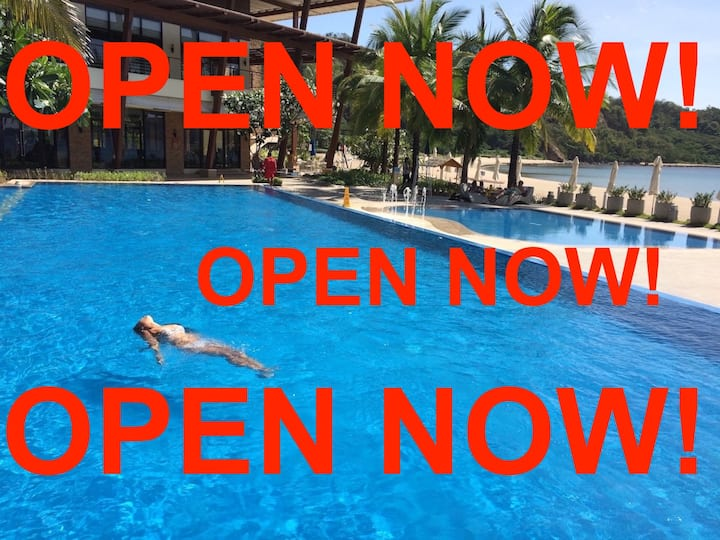 OPEN NOW! Pico de Loro Club/HamiloCoast, condo/k'