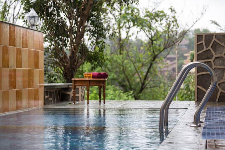 Par-X Mist View-Villa 10A Private Pool +Lawn 4BHK