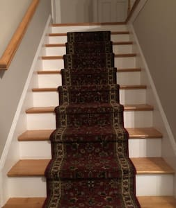 """48"""" wide staircase to your rooms"""