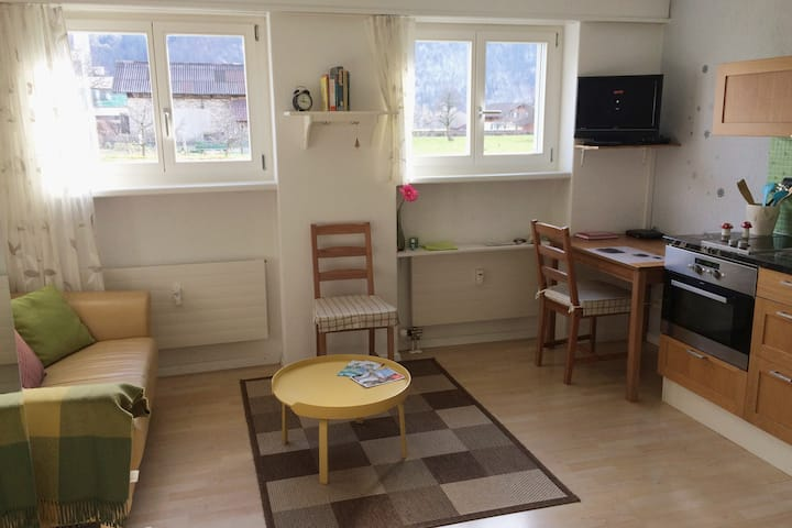 Little apartment for 1 person with guest Card!!