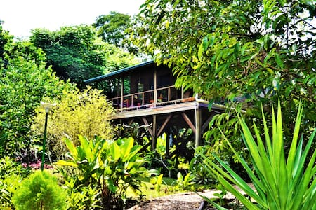 Sanpopo Tree Top Cottage In Secure Tropical Garden
