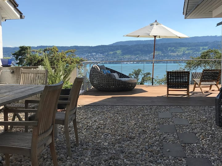 Exclusive Zürich Villa with spectacular Lakeview
