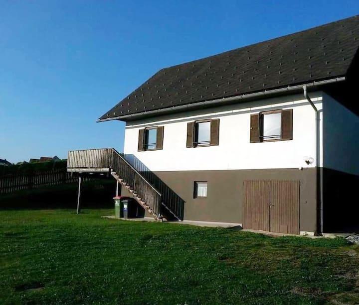 Haus inmitten von Weingärten der Schilcherregion