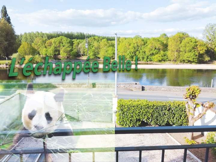 Gîte L'échappée Belle à 6min du Zoo de Beauval