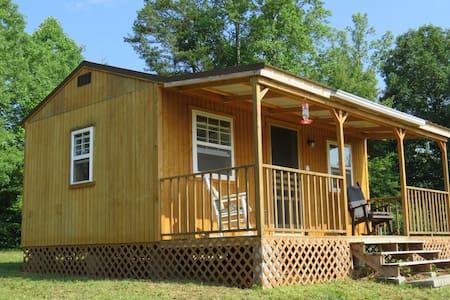 Escape To The Countryside: Remote Camping Cabin.
