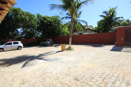 Vaste parking de Casa Paloma