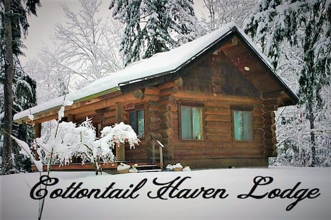 Cottontail Haven Lodge-short term rental, king bed