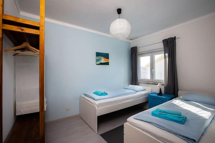 Bedroom 3 - can also be pulled together for a doublebed
