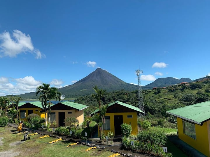 Bungalow Private Arenal Volcano &  Lake View