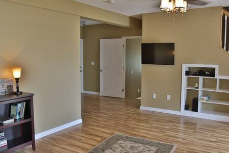We don't really have hallways. The house is an open space floor plan.