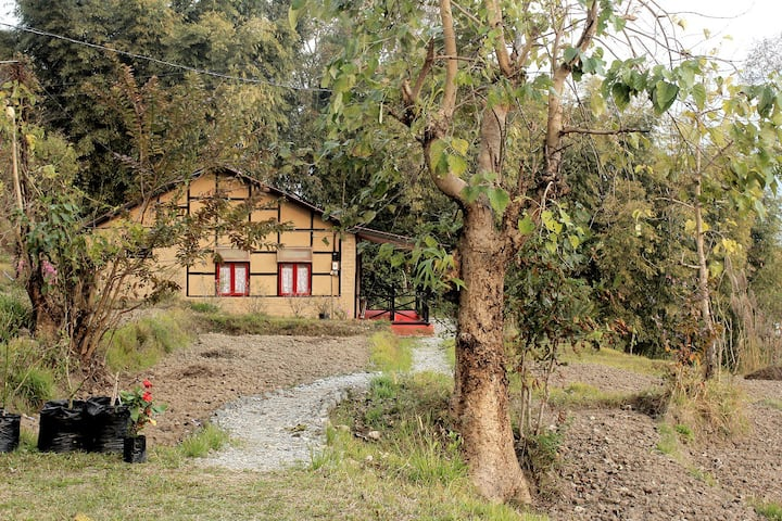 PaliGhar, a traditional Nepali eco-room