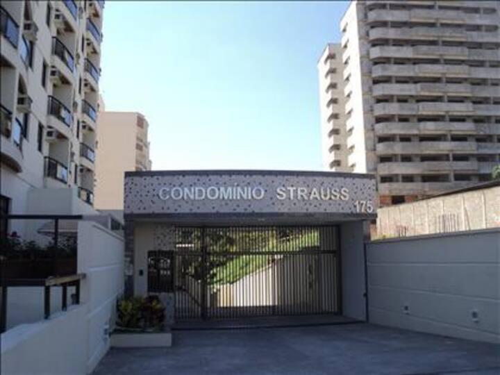 Excelente Apto 1 Quarto-Condomínio Strauss Resende