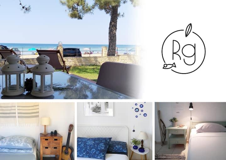 Greece by the sea. First maisonette, Nikiti (3BD)