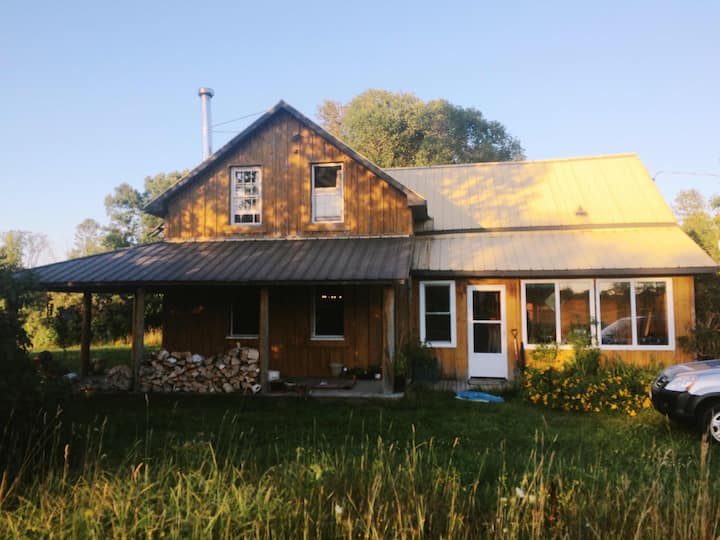 Country Retreat on 17 acres on the Kagawong River