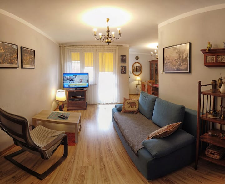 Cozy apartment in Tarnów free WiFi