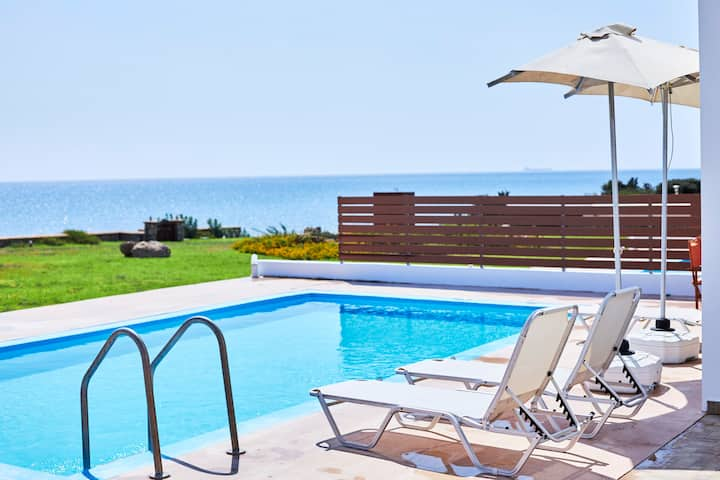 Nerida BeachFront Villa 3 Thalassa  Rodos Greece