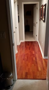 """Only hallway in the home with 42"""" clearance"""