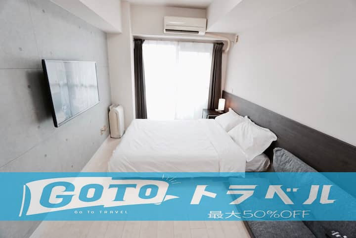 3P.Near Nagoya Sta./Bicycle Lend/Free parking WiFi