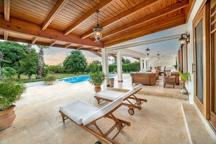 Casa de Campo New Luxury Polo Villa