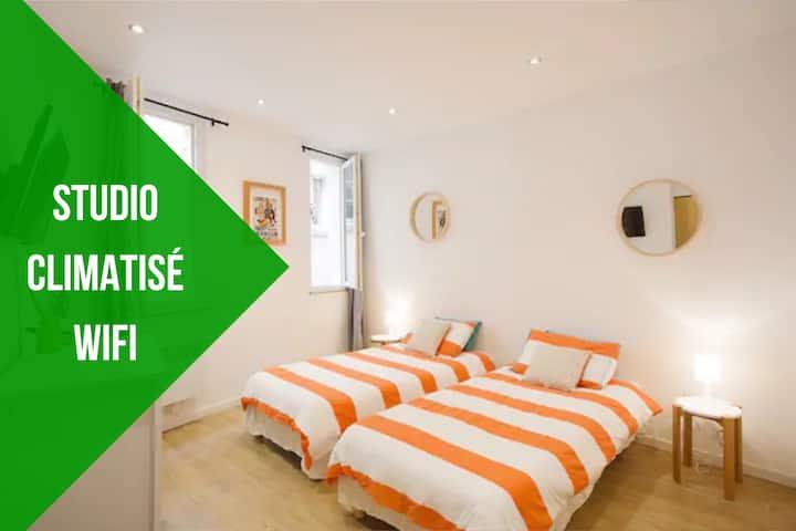 Bel appartement climatisé  dans Toulon historique