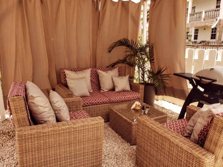 2 bedroom home with outdoor villa #2 BTMI approved