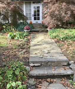 Front walk from sidewalk to front door