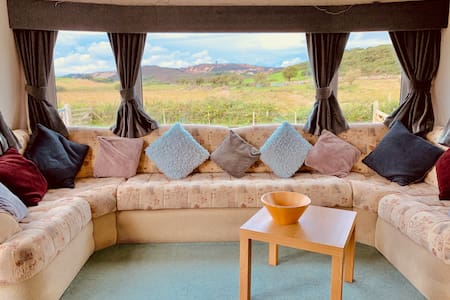 Ty Bach, a uniquely situated static caravan