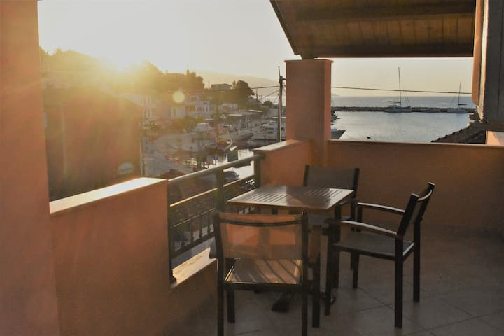 Spacious sea view maisonette in Agia Effimia