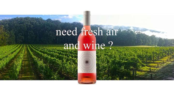 Stay @ #3 VALLEY FARM Vineyard