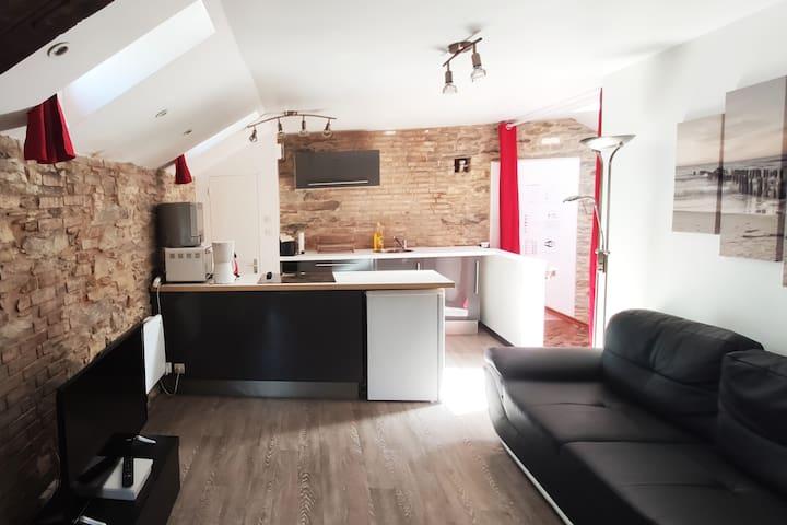 Appartement de charme - centre ville
