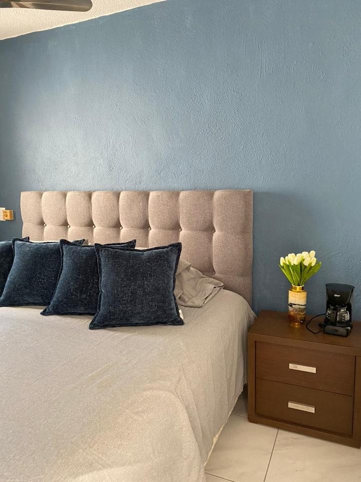 Loft privado renovado en Nuevo Vallarta